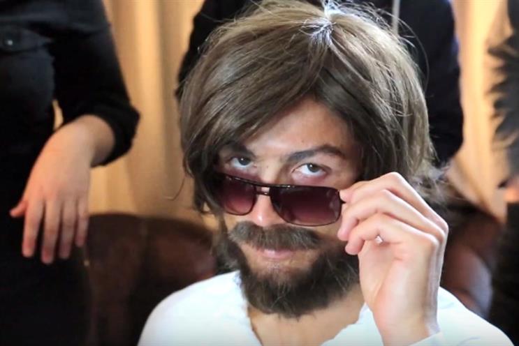 Ronaldo has disguised himself in PR stunt