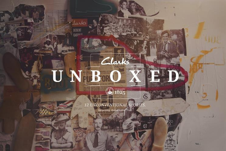 Clarks: interactive site charts 200 year history of the brand