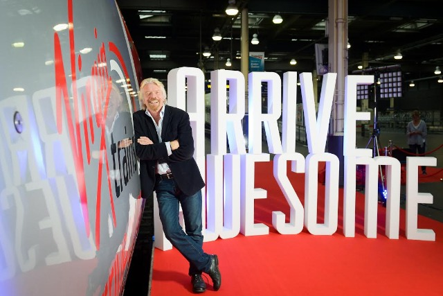 "Richard Branson: ""We don't just want to meet customer expectations, we want to exceed them"""