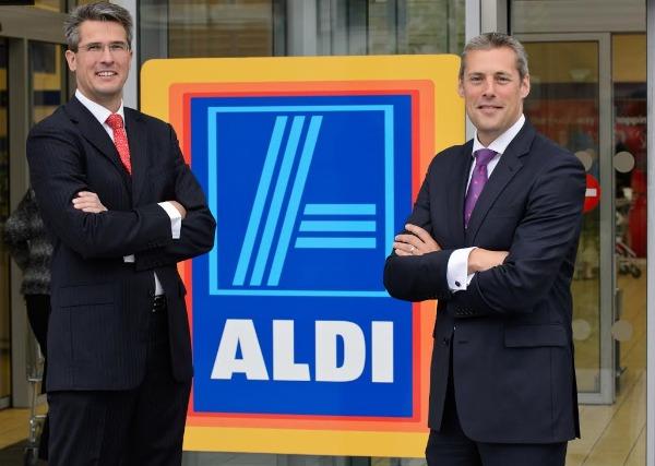 Aldi: joint UK managing directors Roman Heini and Matthew Barnes