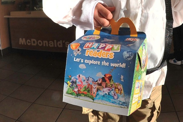 McDonald's: Happy Readers campaign encourages kids to read