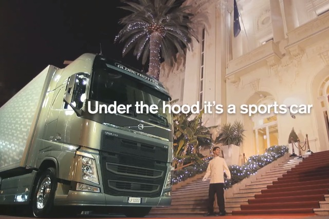 Volvo tricks valet in spoof designed to communicate the power of its engine