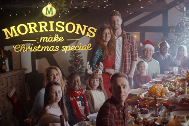 Morrisons: readies Christmas TV work