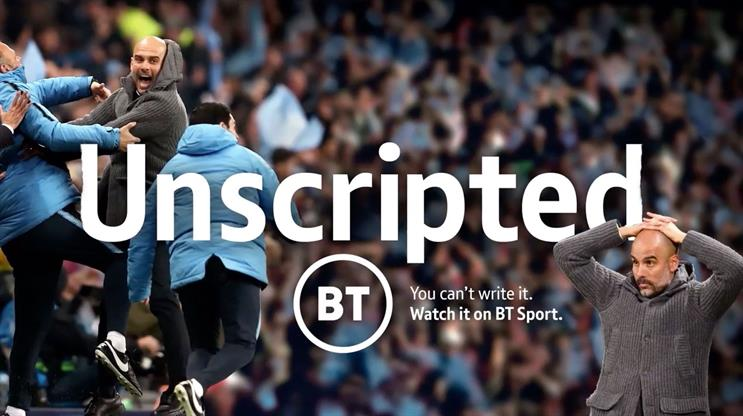 BT Sport: Guardiola's highs and lows of football shown in new campaign