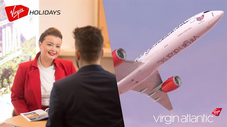 Virgin Holidays and Virgin Atlantic: using one social agency