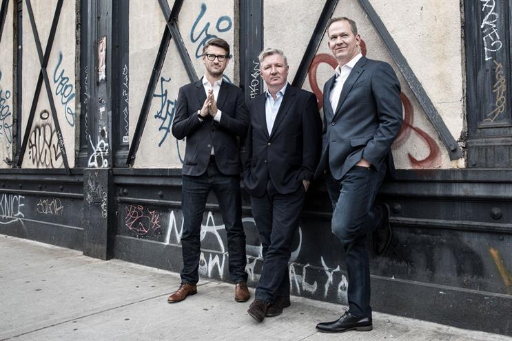 VCCP and Muhtayzik Hoffer: John Matejczyk, Adrian Coleman, and Matt Hofherr (l to r)