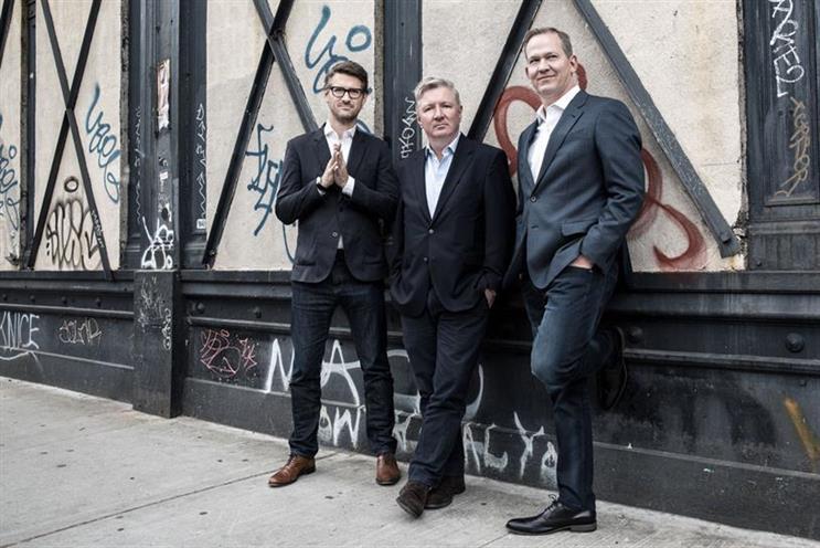VCCP and Muhtayzik Hoffer (L-R): John Matejczyk, Adrian Coleman and Matt Hofherr