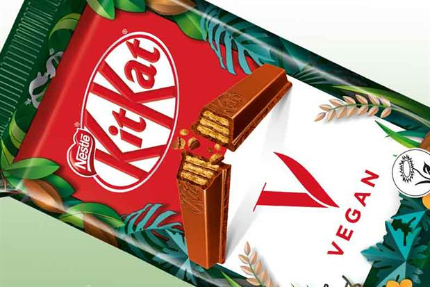 Nestlé: introduced a vegan version of KitKat earlier this year