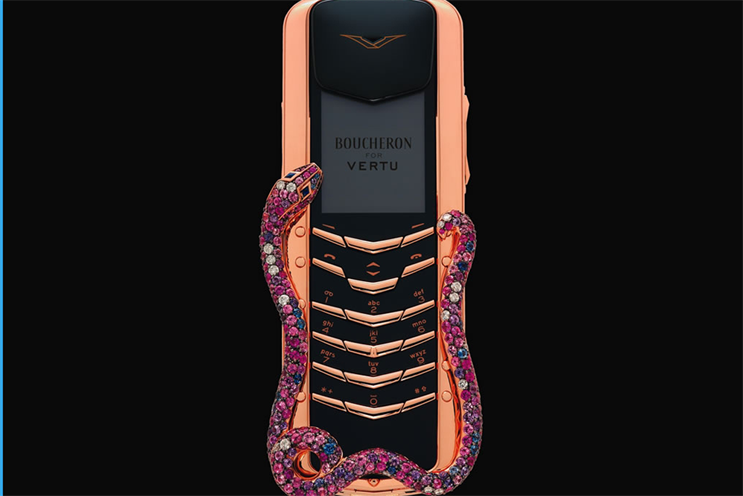 Vertu: launching new models