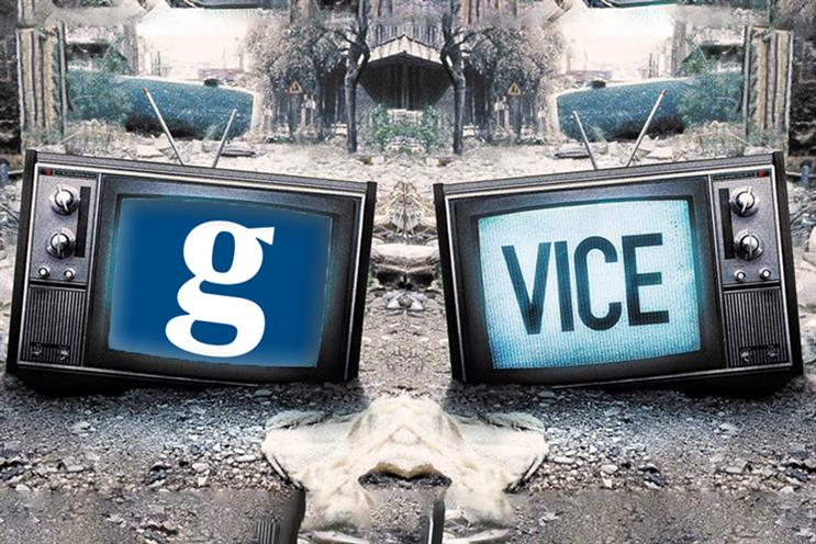 Vice: collaborating with The Guardian to create co-branded content