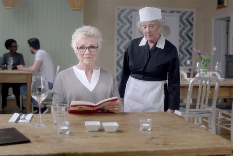 Vision Express: Julie Walters has starred in ads