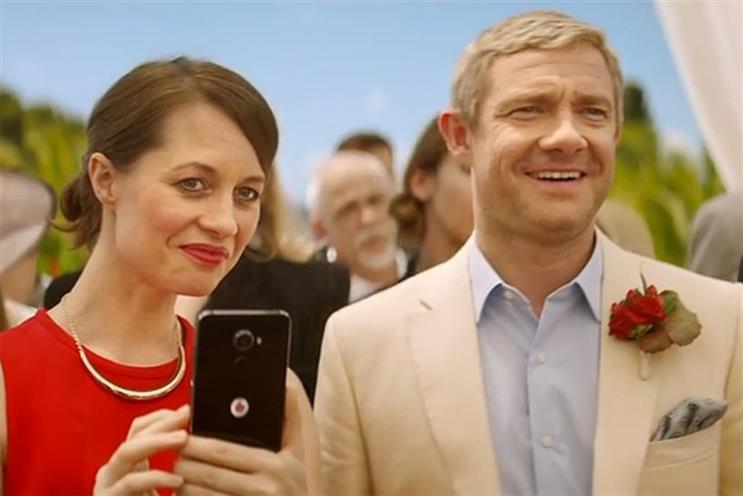Vodafone: new ad campaign features Martin Freeman