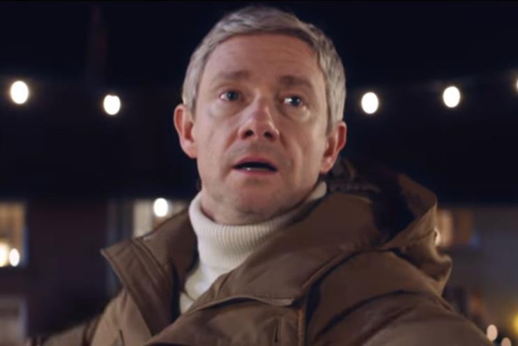 Vodafone: Martin Freeman stars in its ads