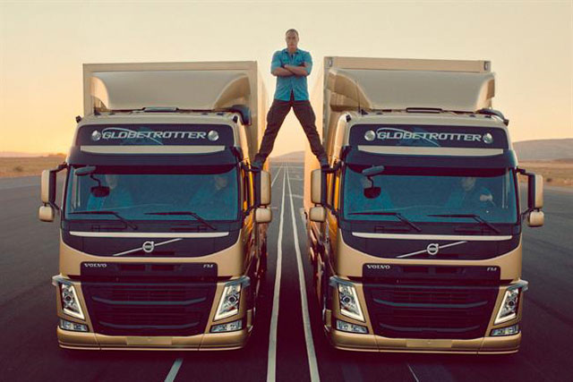 Van Damme spot is least effective Volvo ad