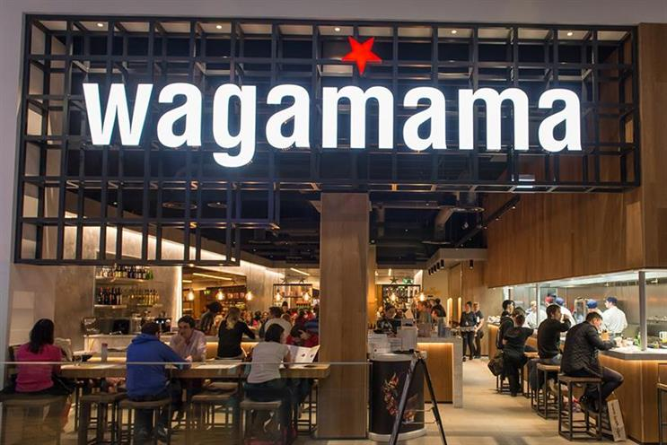 Wagamama: JWT London has won the restaurant's integrated account