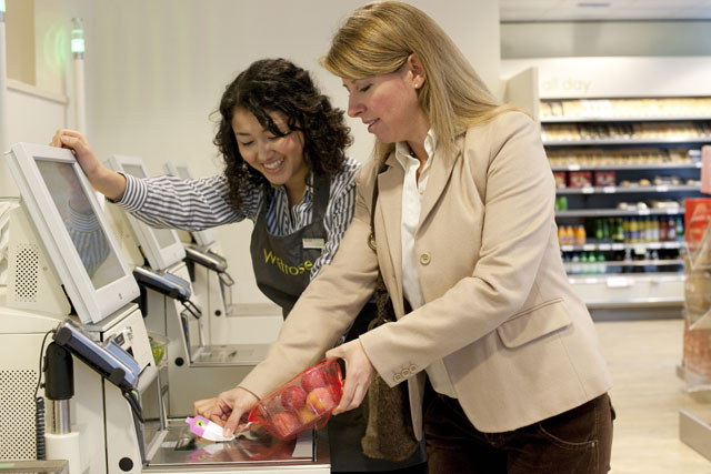Waitrose: trialling the removal of self-scanning kiosks in a Milton Keynes store