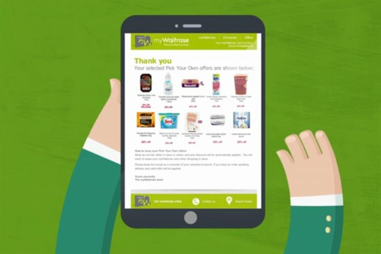 Waitrose: 700,000 customers have signed up to its loyalty scheme