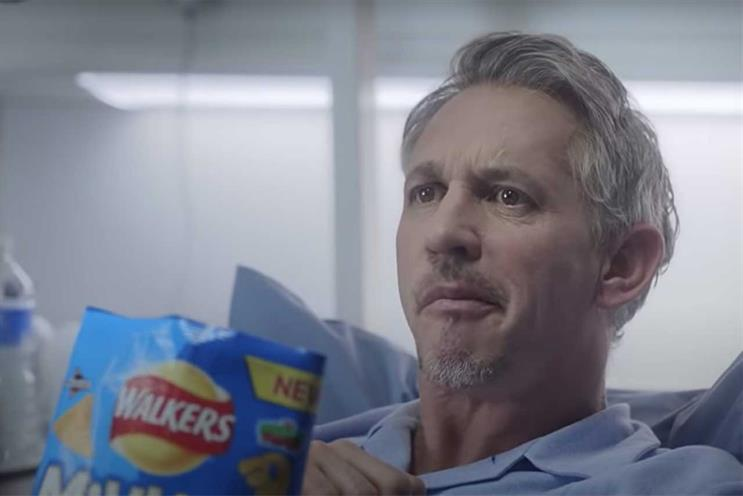 Walkers: Lineker has been star of long-running campaign