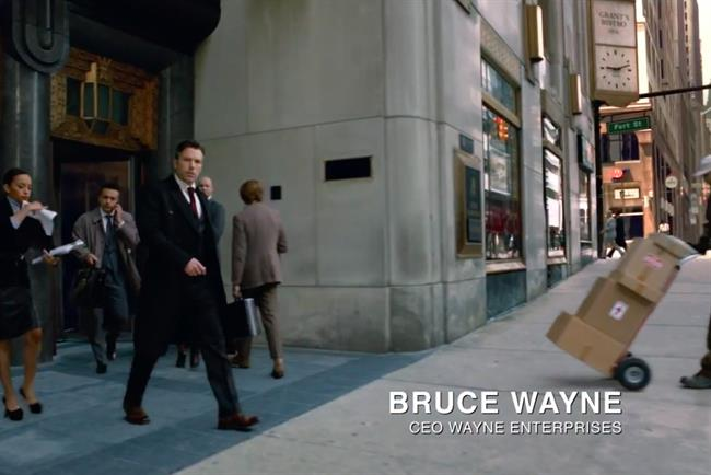 Ben Affleck: starred as Bruce Wayne in a Turkish Airlines spot ahead of 'Batman v Superman' movie launch
