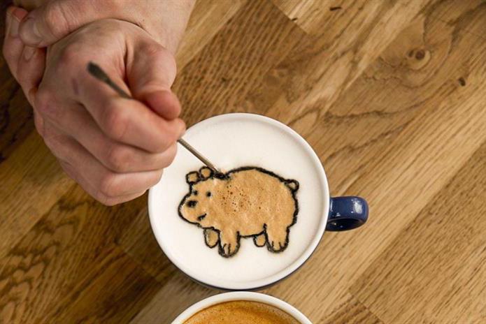 Cartoon Network creates We Bare Bears coffee cart