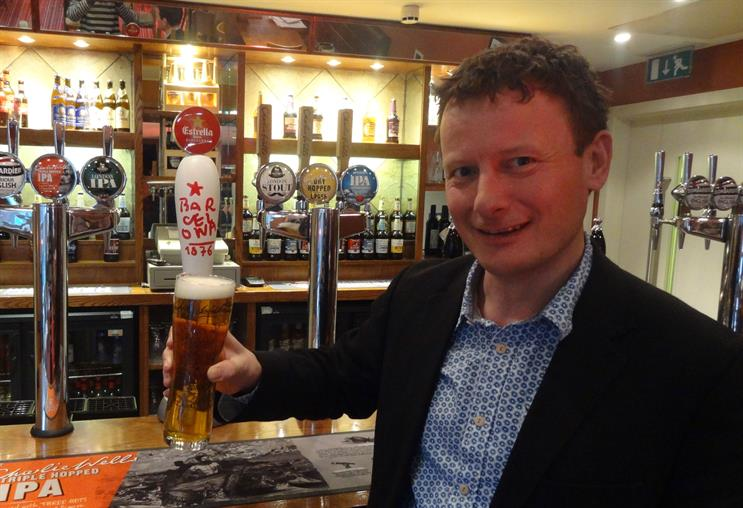 Charles Wells: marketing director Jason Wills says the beer market has been pepped up by craft