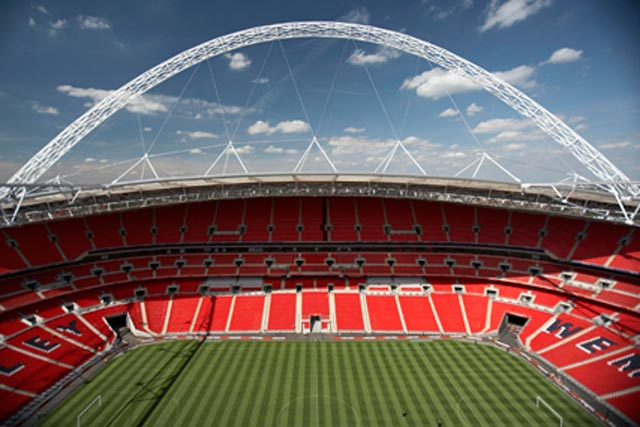 Labrokes will have in-stadium betting rights at Wembley, which can hold 90,000 spectators