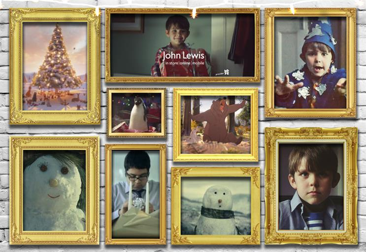 The most shared John Lewis Christmas ads of all time