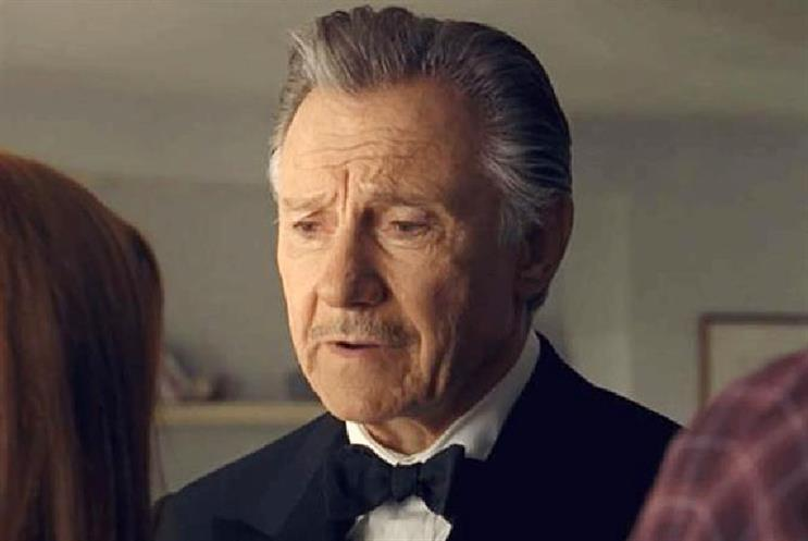 Harvey Keitel: stars in  Direct Line campaign