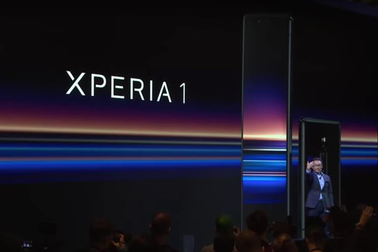 Sony Xperia: Sony has used an in-house team from Unlimited for recent handset launches