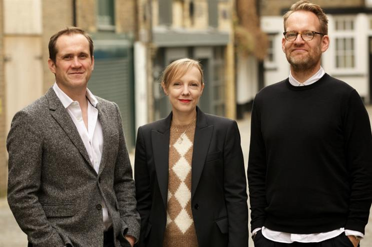 Will Mould, Kerry Shaw and Paul Stanway