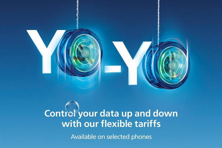 O2 launches flexible tariffs with multimillion pound yo-yo themed campaign