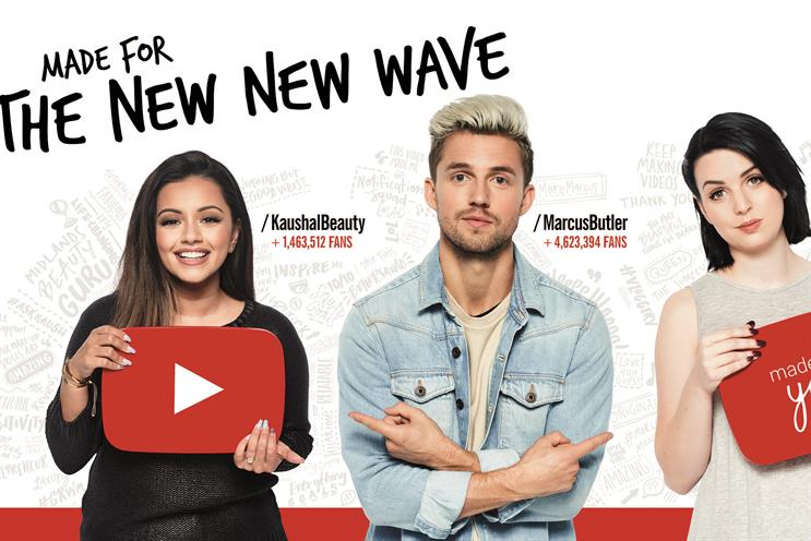 YouTube celebrates creators in new campaign