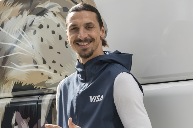 How Visa scored big with Zlatan Ibrahimovic at the World Cup