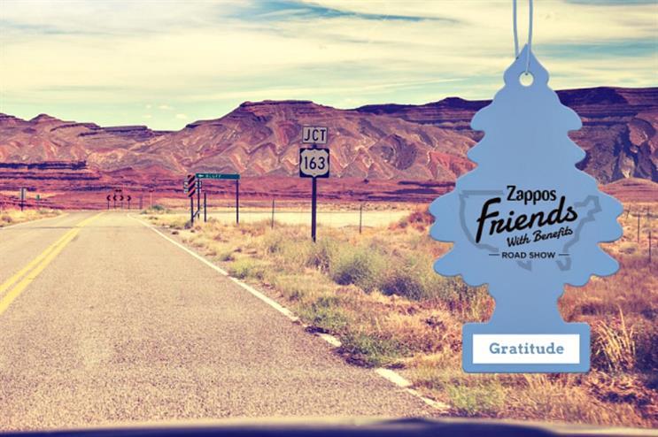 Zappos: kicking off US roadshow