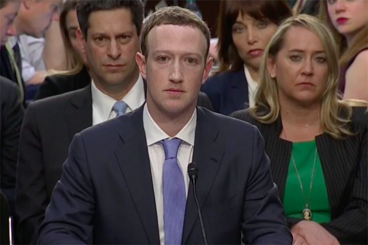 Mark Zuckerberg: appeared before US Congress