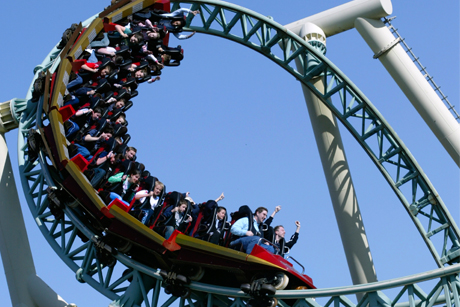 Launching ride: Thorpe Park