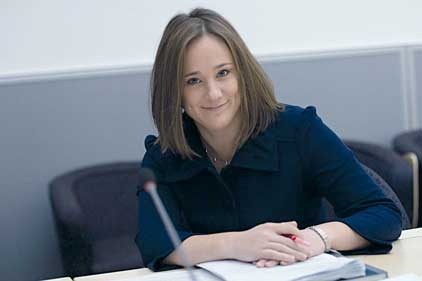 Jenny Grey: in Government's most senior comms role