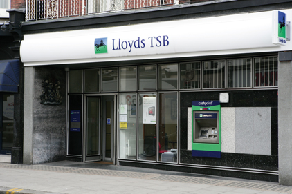 Lloyds Banking Group: Hands FD corporate banking brief