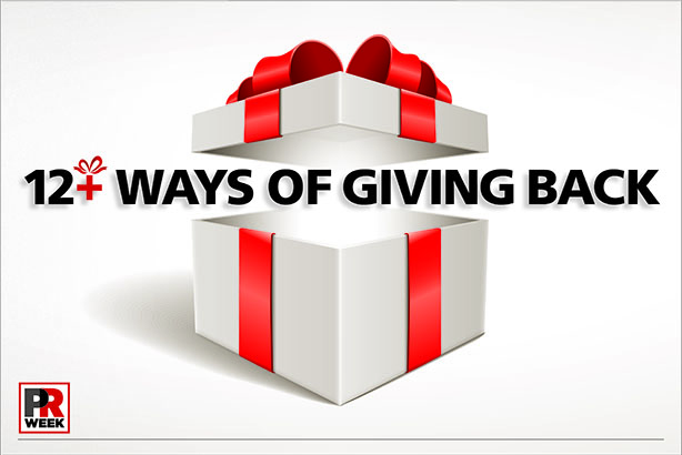 12+ Ways of Giving Back 2014