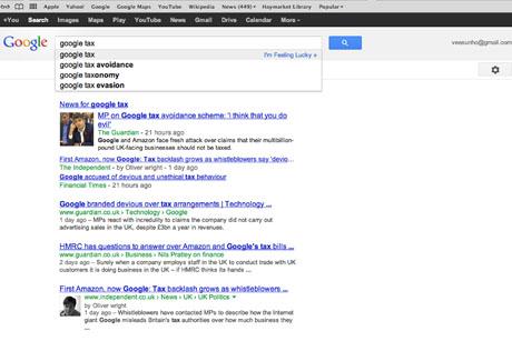 Can Google set the tax agenda?