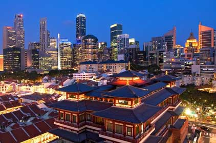 Singapore: seeking support to boost its UK profile