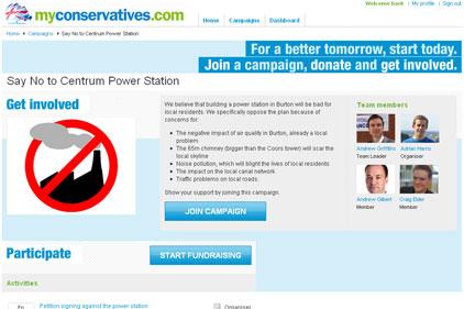 New site: myconservatives.com