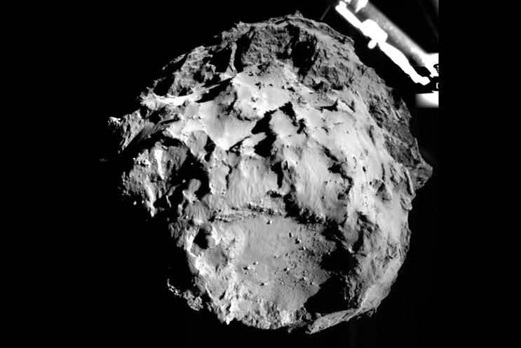 Top of the month: Rosetta space mission leaves Kim Kardashian seeing stars