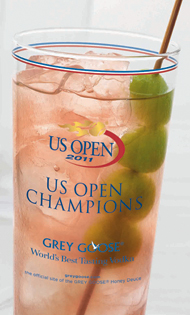 Grey Goose toasts five years at US Open