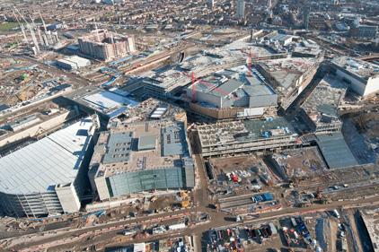 Under construction: Westfield Stratford City