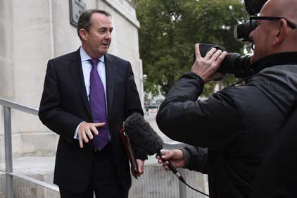 Industry figures fight back as politicians 'blame' lobbyists for Liam Fox scandal