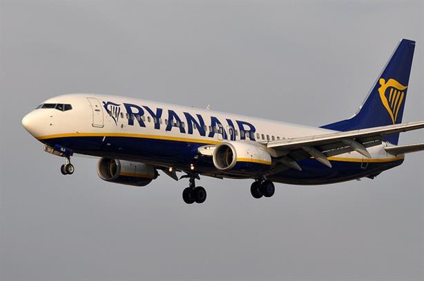 A Ryanair B737 plane (credit: ERIC SALARD via Flickr)
