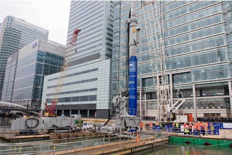 Under fire: Building work on Crossrail has disrupted businesses