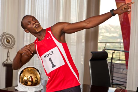 First Class: Usain Bolt fronted Virgin Media's broadband campaign