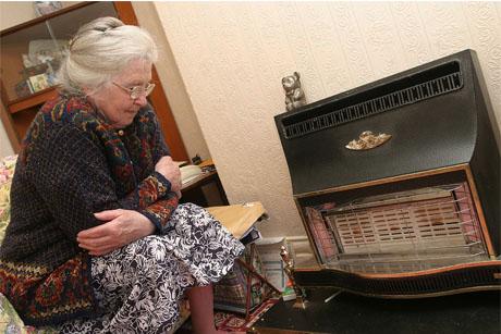 At risk in winter: the elderly